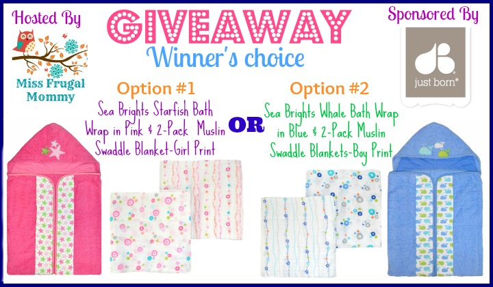 Just Born Baby Bundle Giveaway (Winner's Choice)