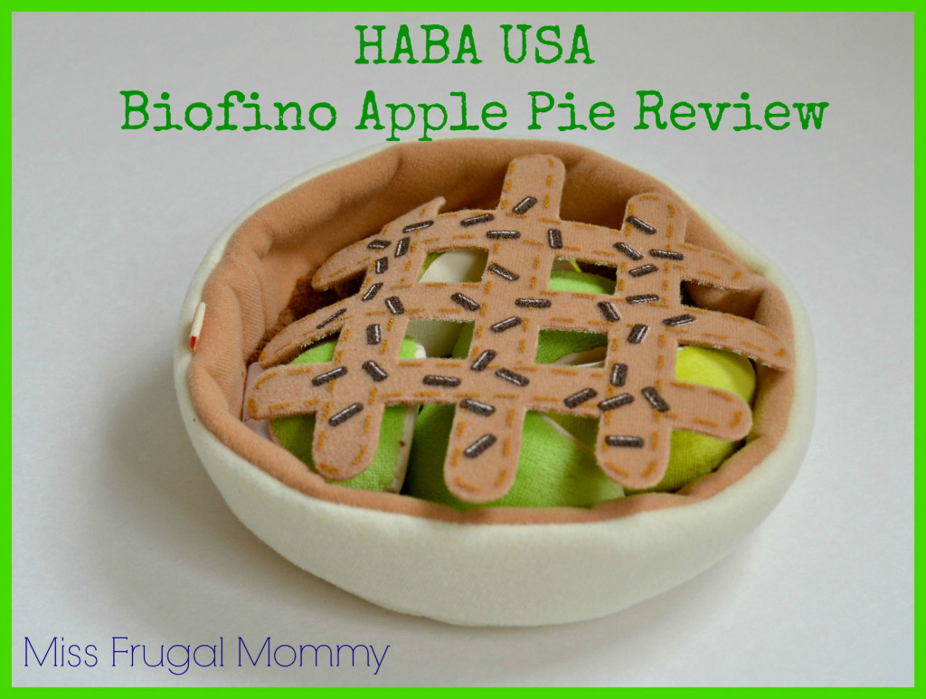 Keeping Imagination Strong: HABA USA Biofino Apple Pie Review