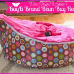 BayB Brand Bean Bag Review (Getting Ready For Baby Gift Guide)