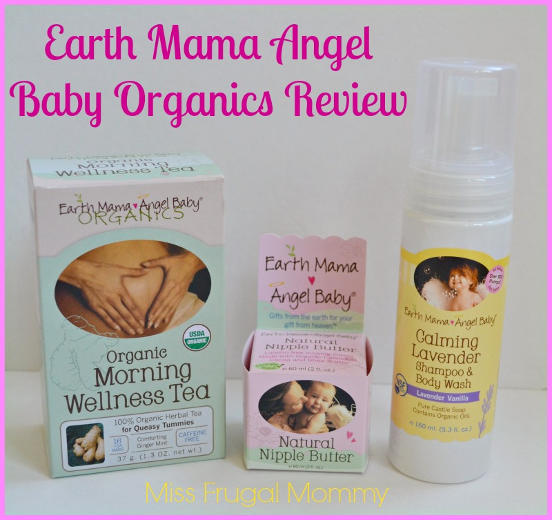 Earth Mama Angel Baby Organics Review (Getting Ready For Baby Gift Guide)