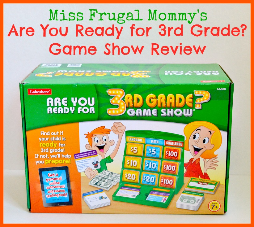 Are You Ready for 3rd Grade? Game Show Review