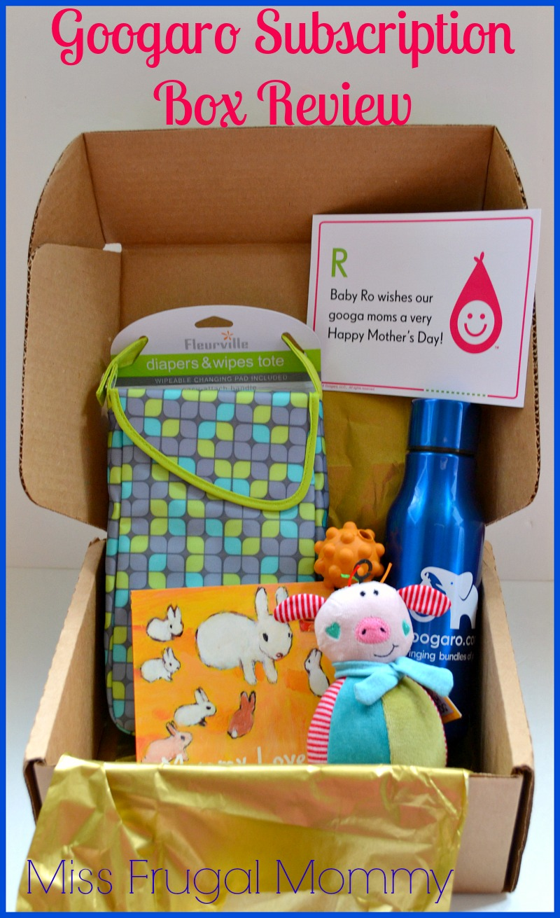 Googaro Subscription Box Review (Getting Ready For Baby Gift Guide)