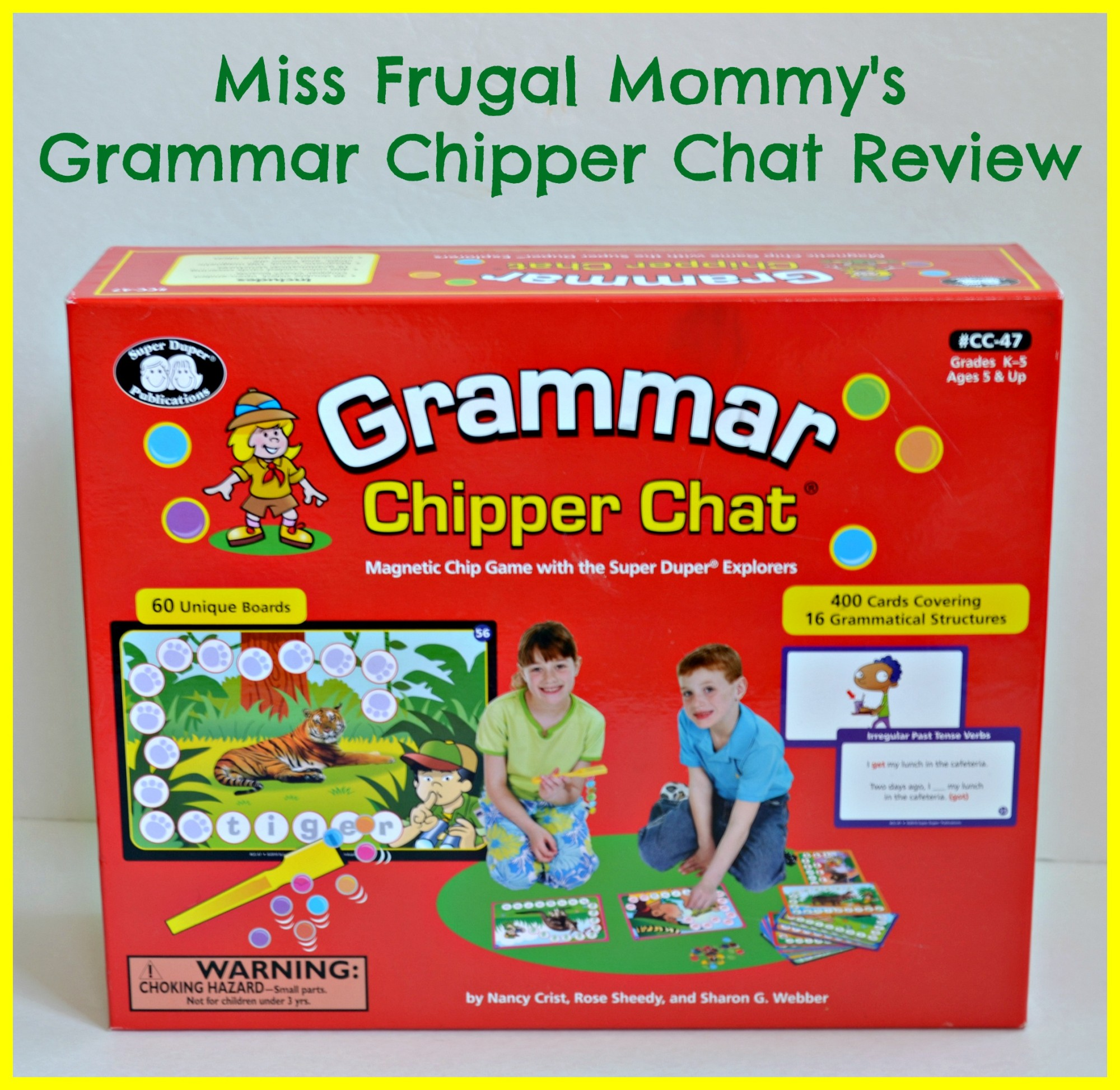 Grammar Chipper Chat Game Review