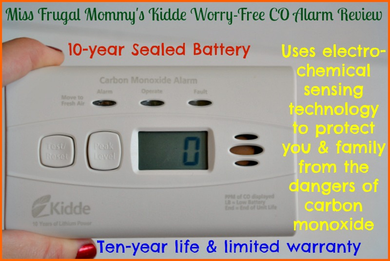 Kidde Worry-Free CO Alarm Review
