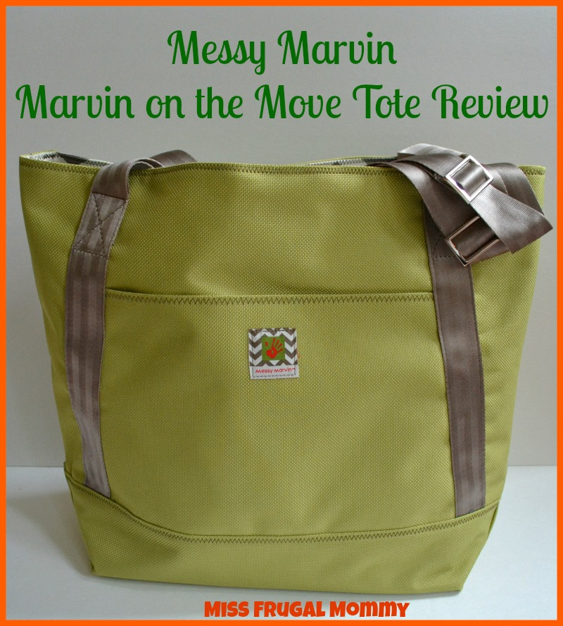 Messy Marvin: Marvin On The Move Tote Review (Getting Ready For Baby Gift Guide)