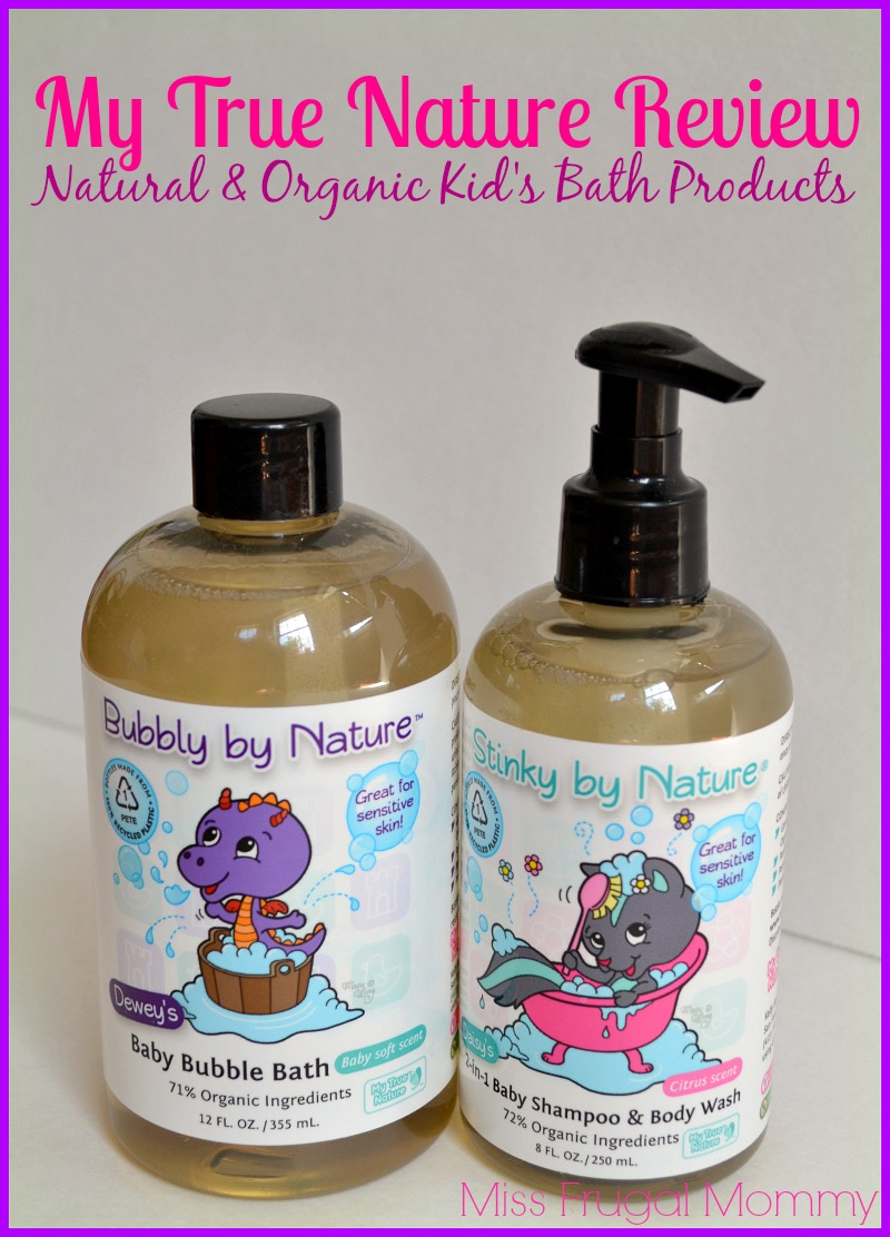 My True Nature Natural Amp Organic Kid S Bath Products