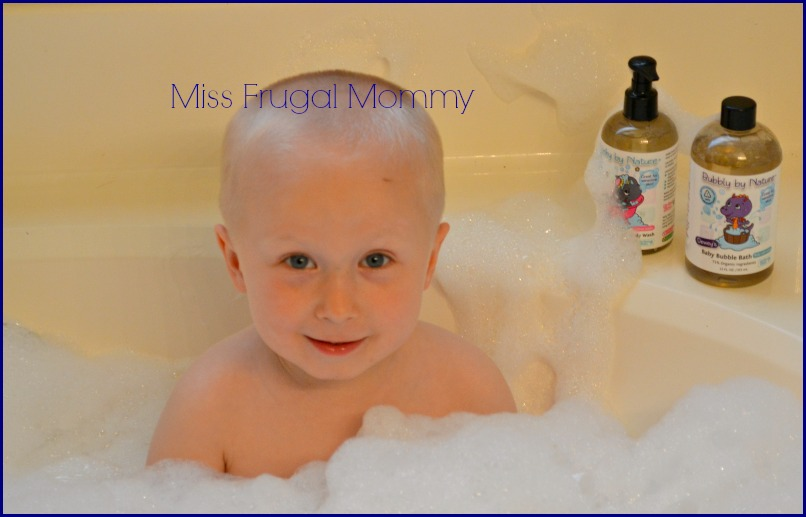 My True Nature: Natural & Organic Kid's Bath Products Review