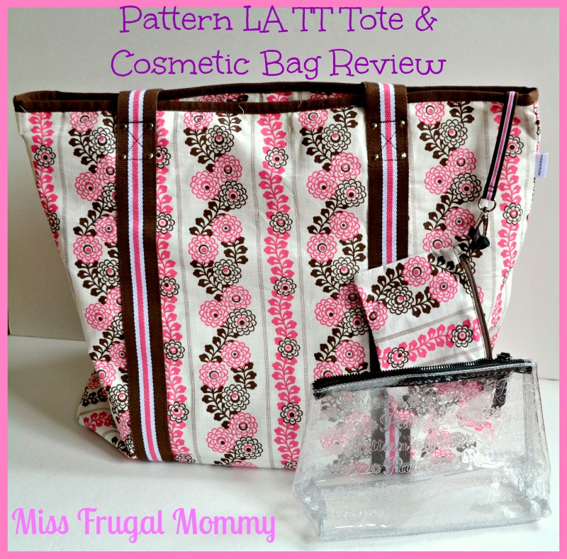 Pattern LA TT Tote & Cosmetic Bag Review