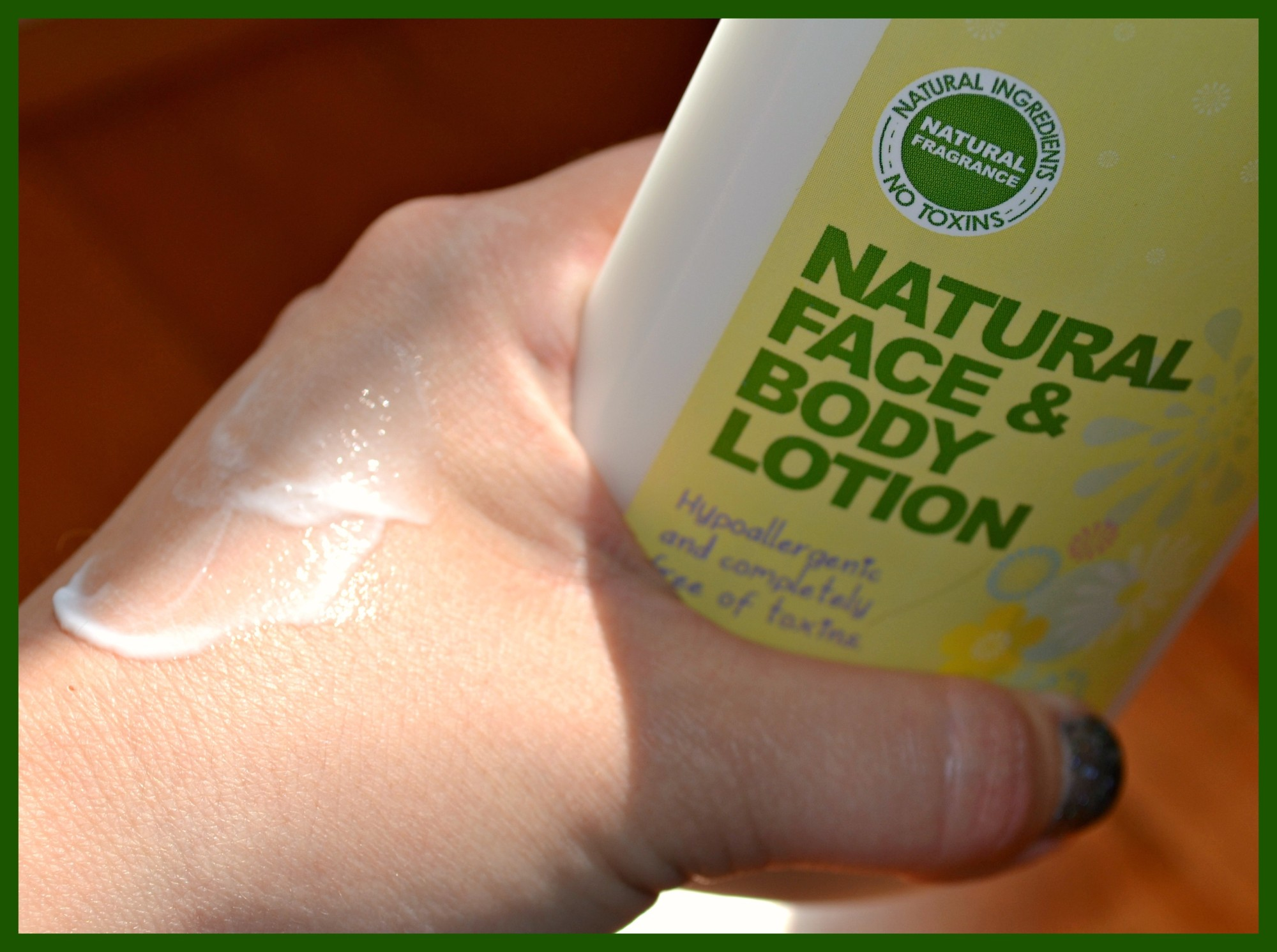 Simple Nature All Natural Baby Care Products Getting