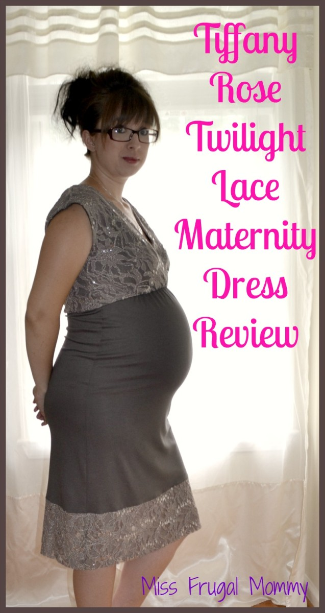 Tiffany Rose Twilight Lace  Maternity Dress Review