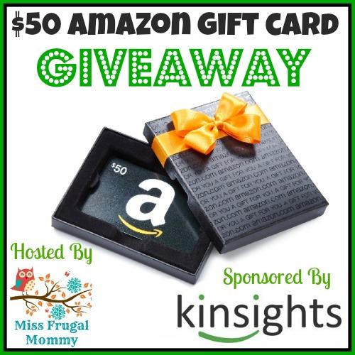 50 Amazon GC Giveaway