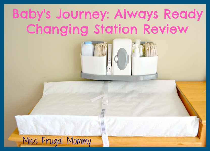Baby's Journey: Always Ready Changing Station (Getting Ready For Baby Gift Guide)