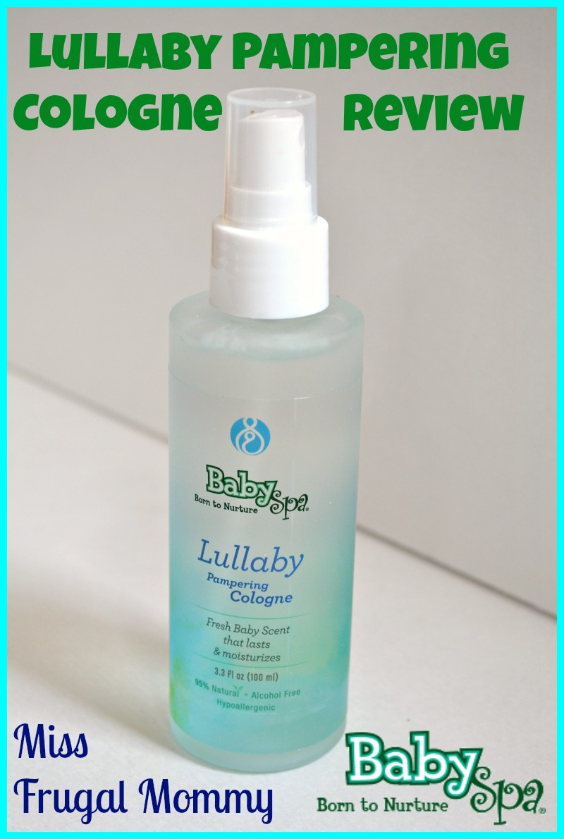 BabySpa USA Lullaby Pampering Cologne Review