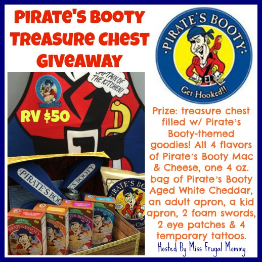 Pirates Booty Giveawy