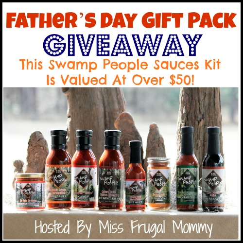 Swamp People Hot Sauces Giveaway
