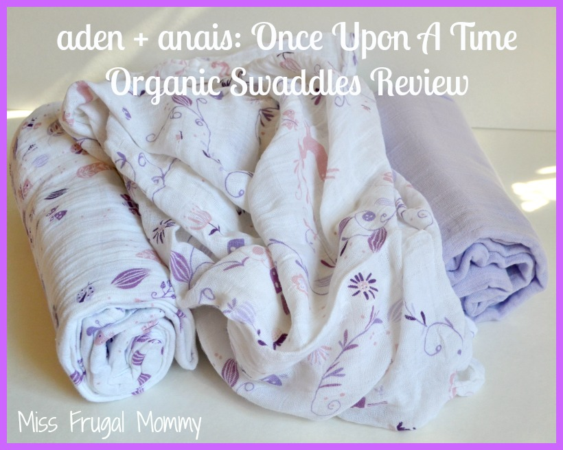 aden + anais: Once Upon A Time Organic Swaddles Review