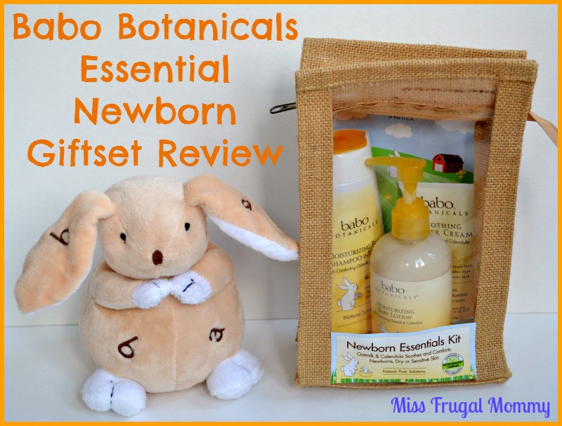 Babo Botanicals Essential Newborn Giftset Review (Getting Ready For Baby Gift Guide)