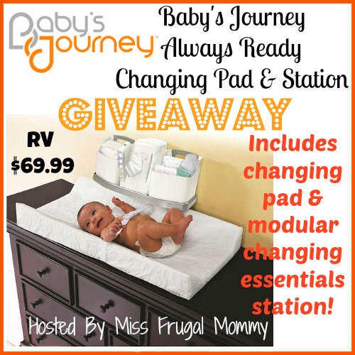Baby's Journey: Always Ready Changing Station Giveaway