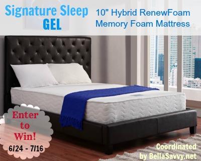 Signature Sleep Hybrid Mattress Giveaway