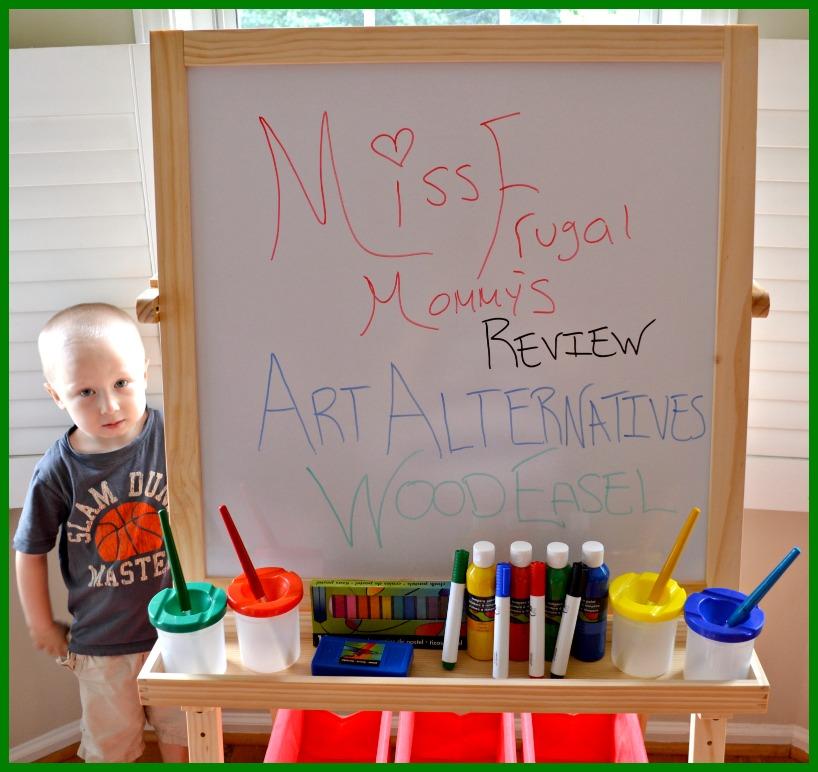 Art Alternatives: Children's Art Activity Easel Review