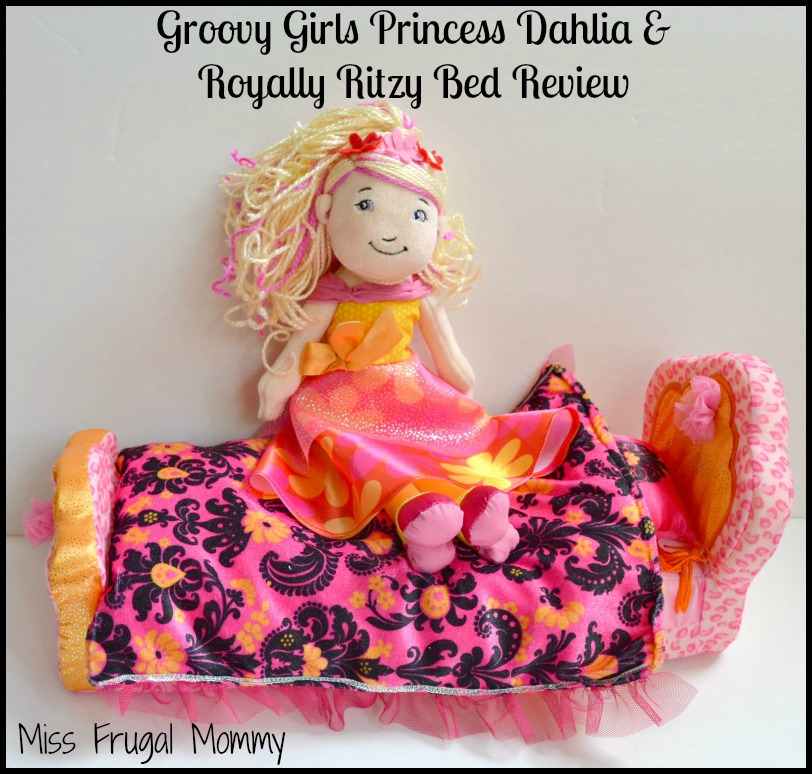 Groovy Girls Princess Dahlia & Royally Ritzy Bed Review