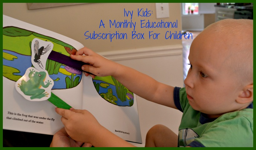 Ivy Kids: A Monthly Educational Subscription Box For Children