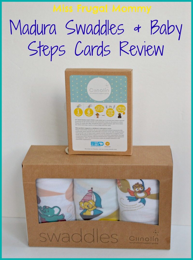Madura Swaddles and Baby Steps Cards Review (Getting Ready For Baby Gift Guide)