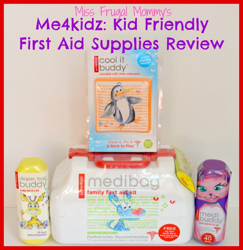 Me4kidz: Kid Friendly First Aid Supplies Review