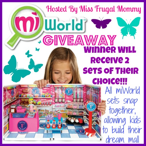miWorld Play Sets Giveaway (Winner's Choice)
