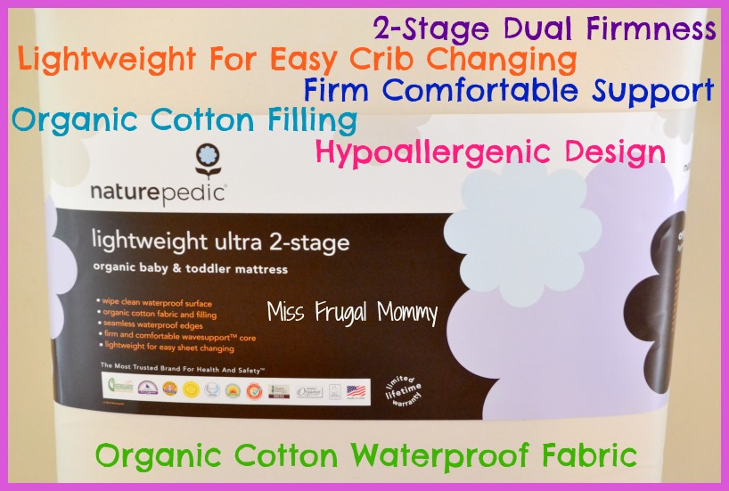 Naturepedic Lightweight Organic Cotton Mattress Review (Getting Ready For Baby Gift Guide)