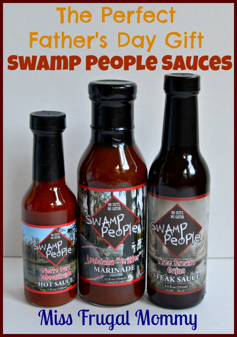 The Perfect Father's Day Gift: Swamp People Sauces