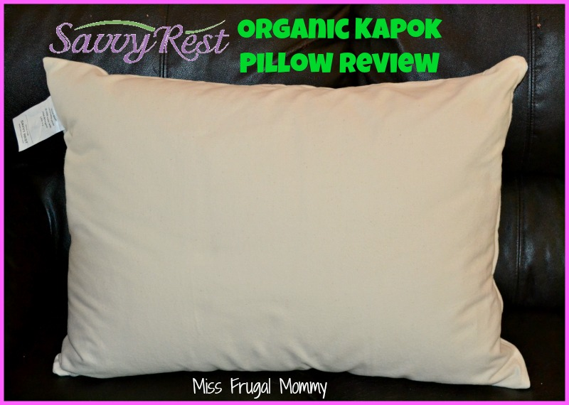 Savvy Rest: Organic Kapok Pillow Review