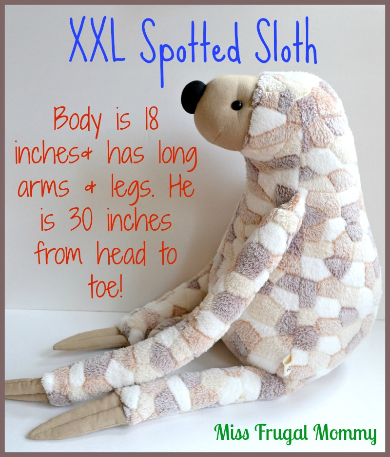 AVida Toys Spotted Sloth Review