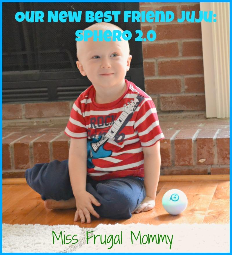 Our New Best Friend Juju: Sphero 2.0 #getsphero