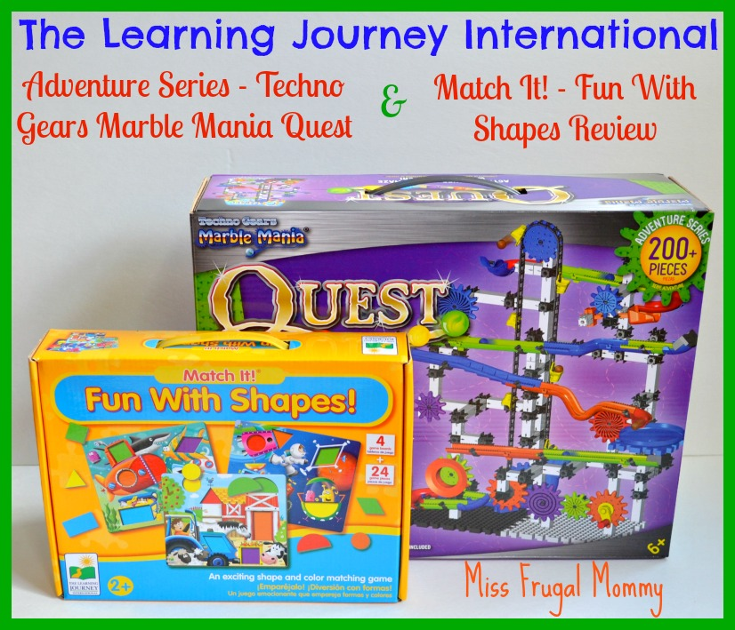 The Learning Journey International: Toys/Games Review