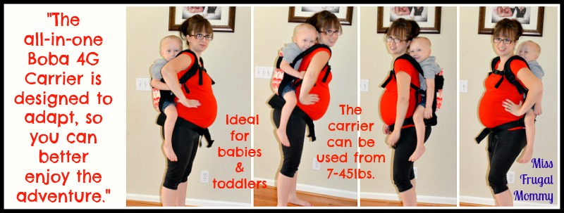 Boba Carrier 4G Review (Getting Ready For Baby Gift Guide