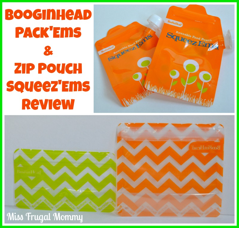 BooginHead Zip Pouch Squeez'Ems & Pack'Ems Review