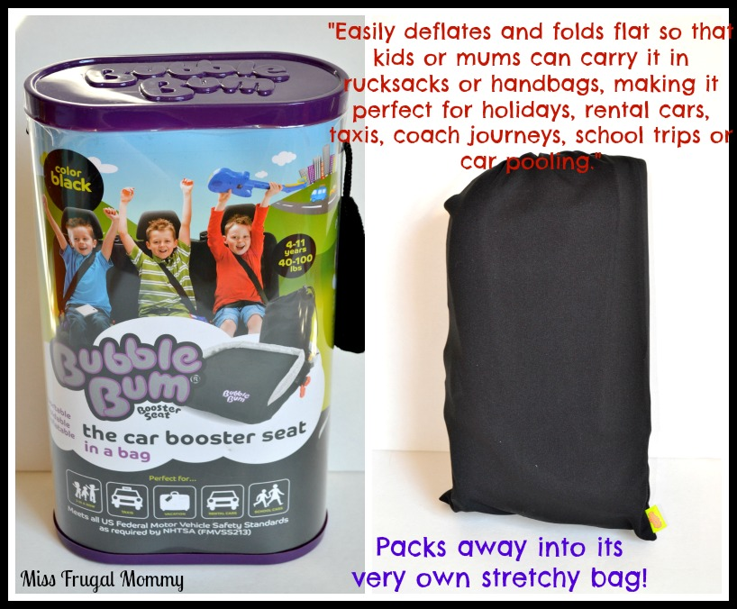 BubbleBum: The Portable, Foldable, Lovable Booster Seat Review