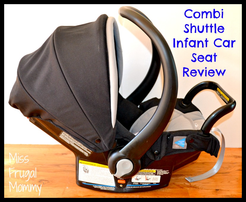 combi shuttle infant car seat review getting ready for baby gift guide miss frugal mommy. Black Bedroom Furniture Sets. Home Design Ideas