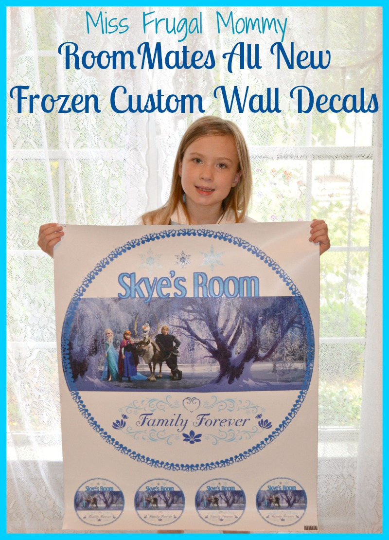 RoomMates New Frozen Custom Wall Decals