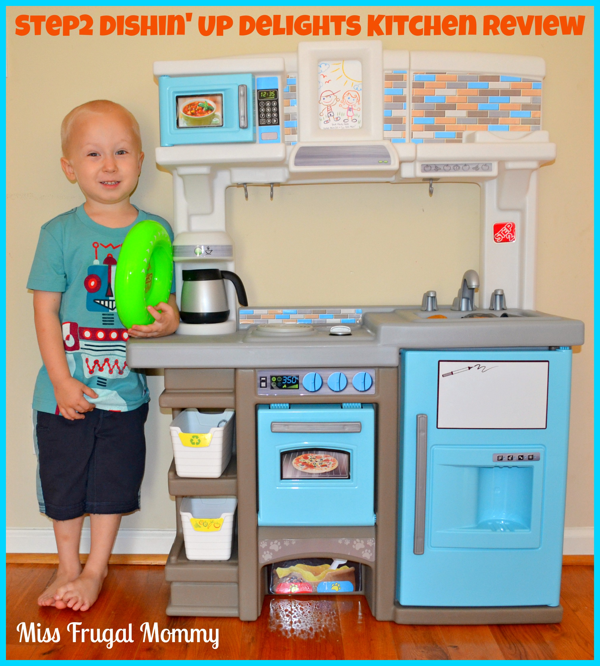 Step2 Dishin Up Delights Kitchen Review Miss Frugal Mommy