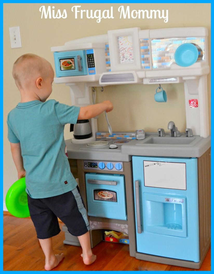 Step2 Dishin\' Up Delights Kitchen Review – Miss Frugal Mommy