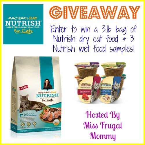 Rachael Ray Nutrish for Cats Giveaway #MC #NutrishforCats