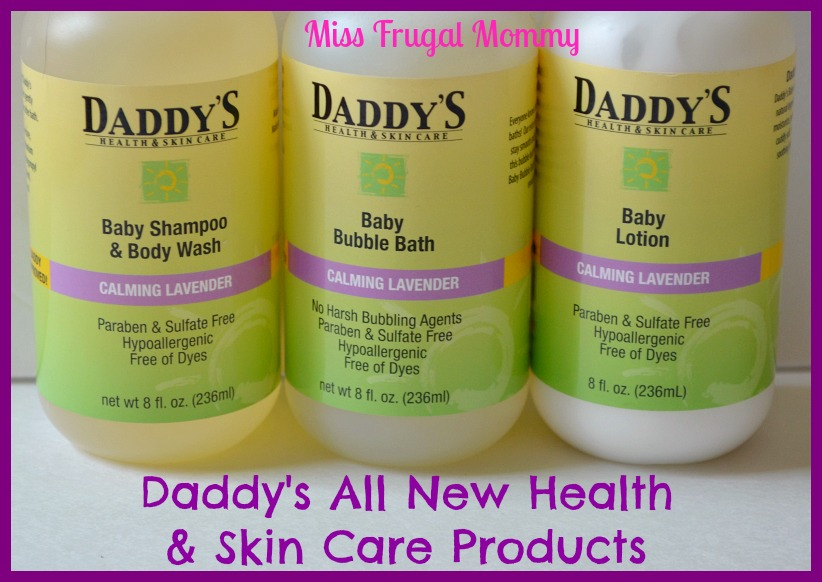Daddy's Health & Skin Care Products Review