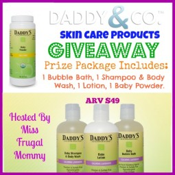 Daddy&Co Skincare Products Giveaway