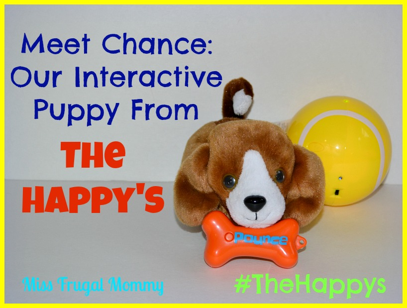 Meet Chance: Our Interactive Puppy From The Happy's