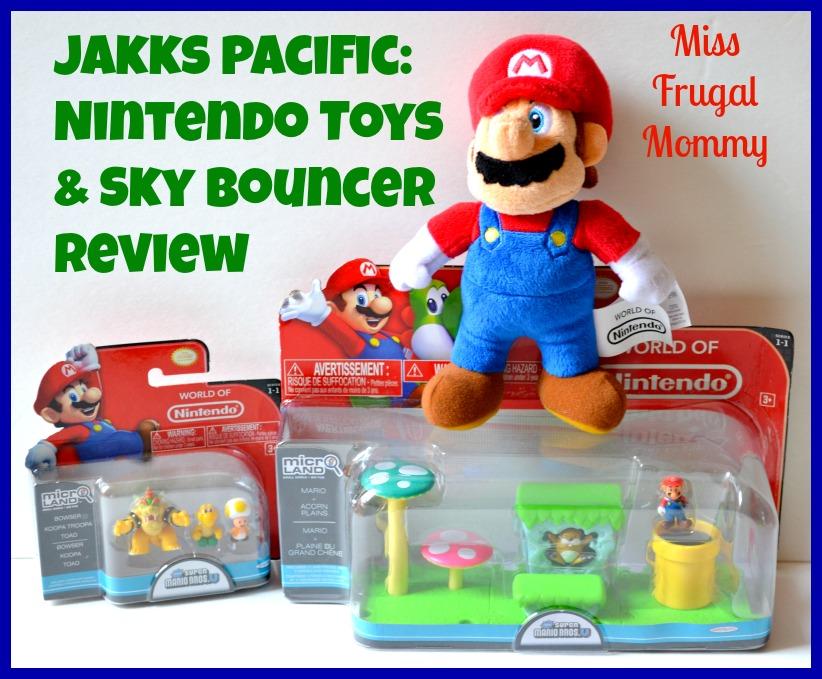 Jakks Pacific: Nintendo Toys & Sky Bouncer Review