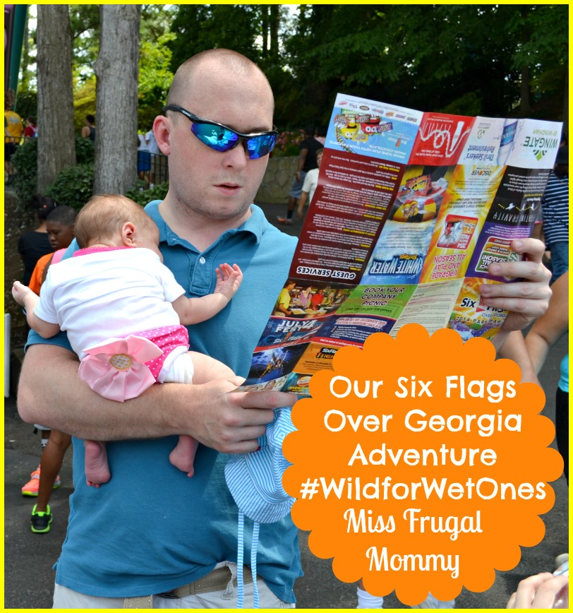Our Six Flags Over Georgia Adventure #WildforWetOnes