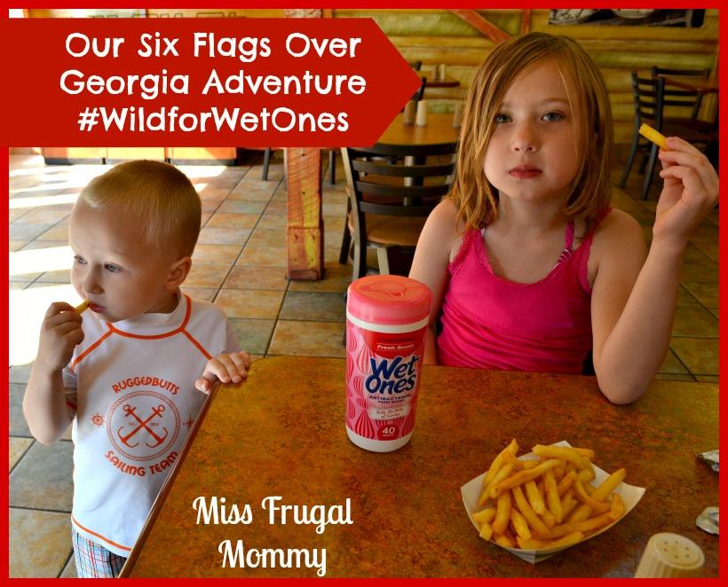 Our Six Flags Over Georgia Adventure #WildforWetOnes