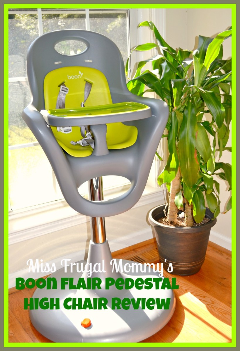 Boon flair high chair pink - Boon1